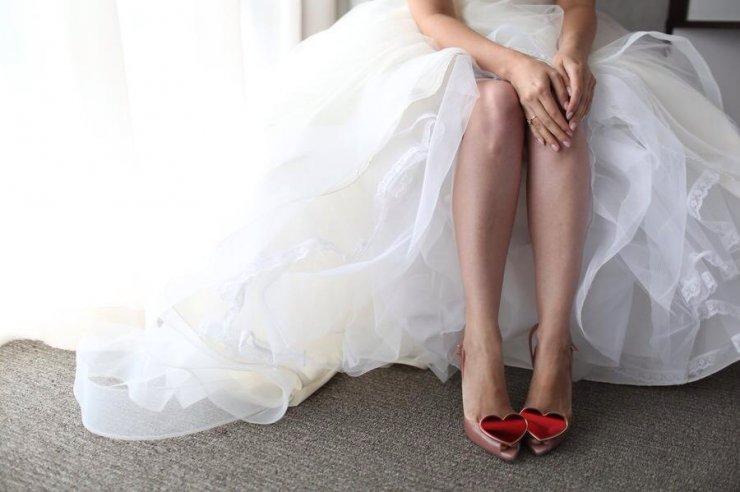 фото туфли невесты