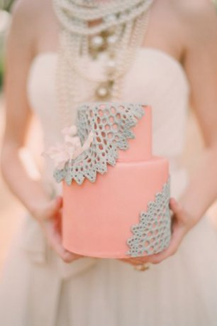 Яркий оригинальный торт