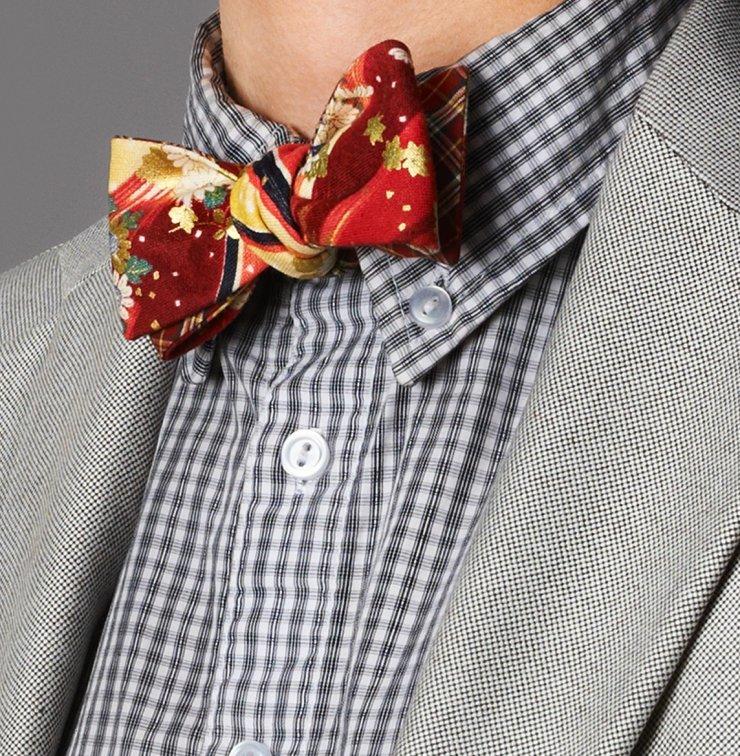 Как сшить галстук бабочка своими руками