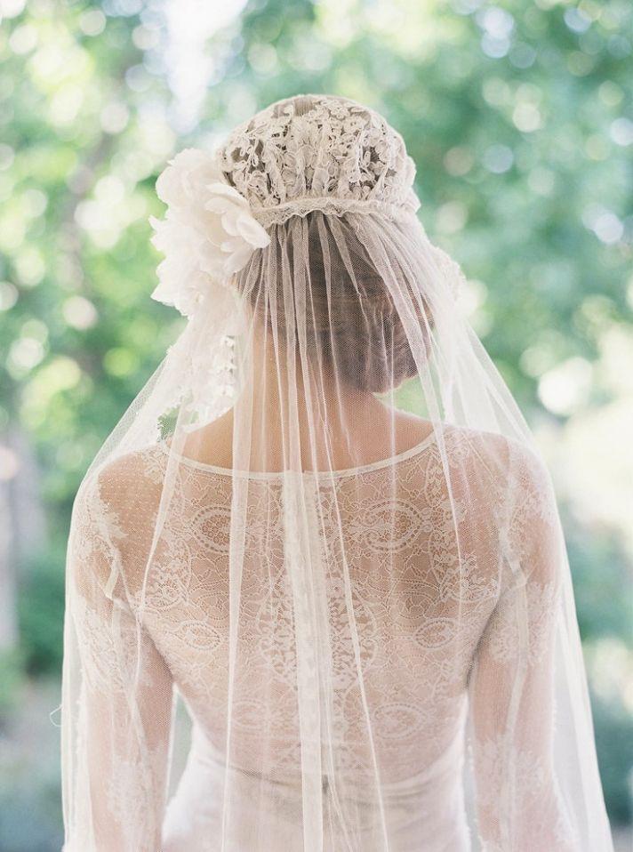 подопытных фото как крепить фату невесте это
