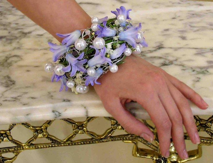 Браслет на руку невесты своими руками фото