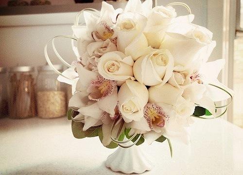 Букет невесты из роз и орхидей - The-wedding.ru