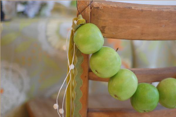 Яблочная свадьба своими руками