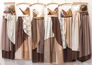 Платья подружек невесты в этническом стиле