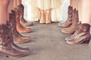 Рождественская свадьба, подружки невесты