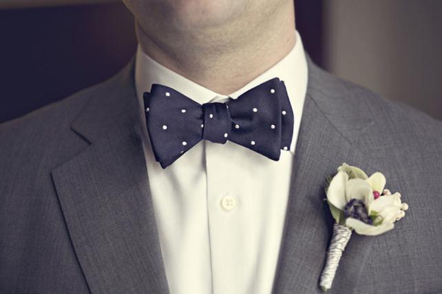 Бабочка для жениха своими руками из ленты