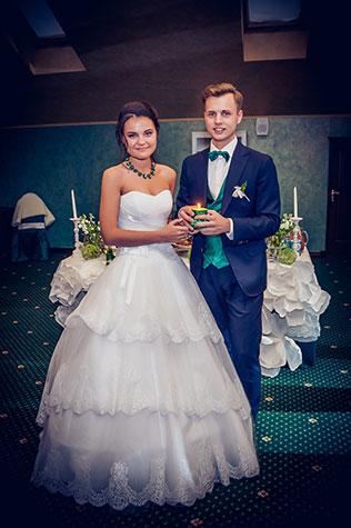 Изумрудного цвета свадьба