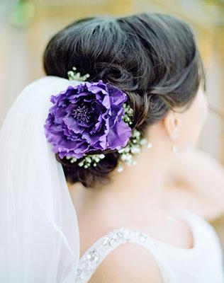 Прическа невесты, Свадебная фата