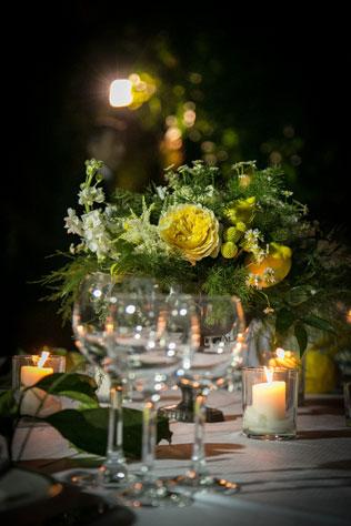 Свадьбы в жёлтом цвете