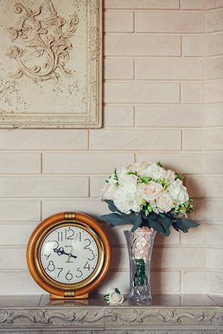 свадьба в пастельных тонах, букет невесты