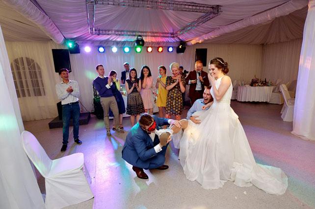 Конкурсы на свадьбу романтичные