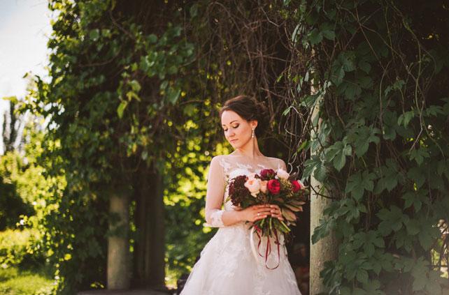 Средиземноморский рустик, образ невесты