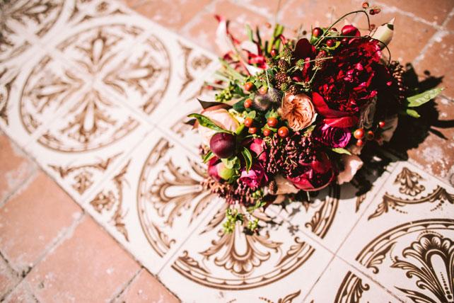 Средиземноморский рустик, букет невесты