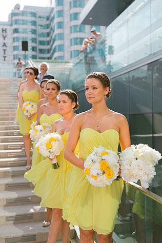Серо-желтая свадьба рекомендации