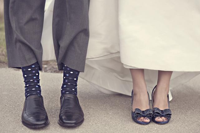 Обувь молодожен