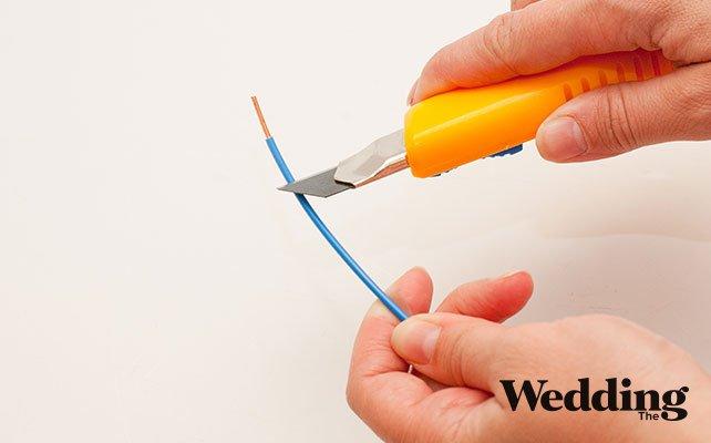 Как своими руками сделать винтажную клетку для декора свадьбы, снять изоляцию с проволоки
