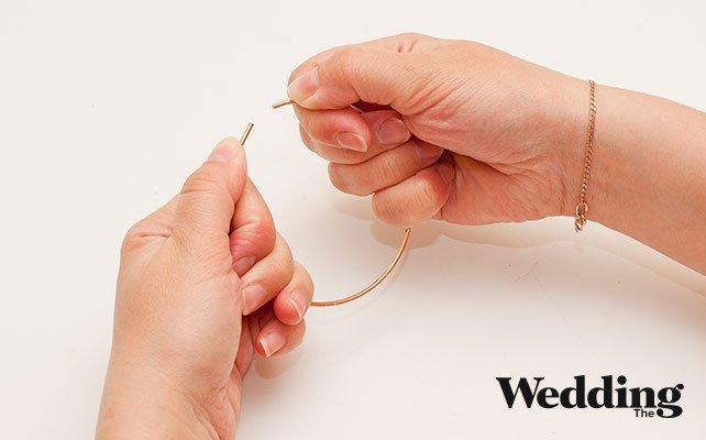 Как своими руками сделать винтажную клетку для декора свадьбы, сделать две окружности