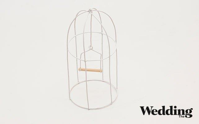 Как своими руками сделать винтажную клетку для декора свадьбы, покрасить клетку