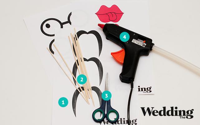 материалы для изготовления аксессуаров для фотосессии