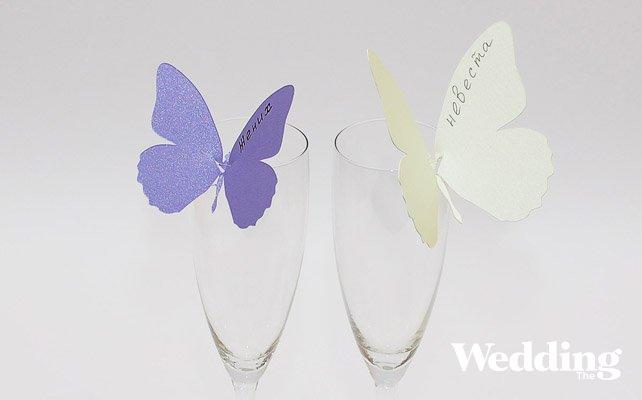 Как сделать бабочку для свадьбы своими руками