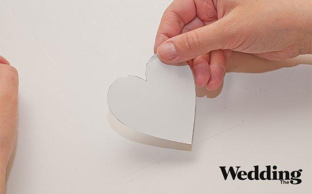 вырезать шаблон сердечка