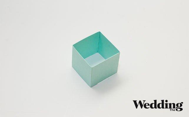 склеить коробочку