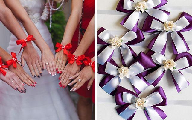 Украшения на свадьбу своими руками сделать цветы