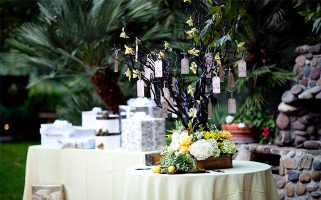 свадебное дерево пожеланий своими руками