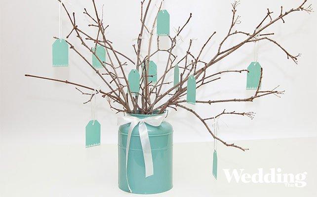 Дерево пожеланий из веток на свадьбу своими руками