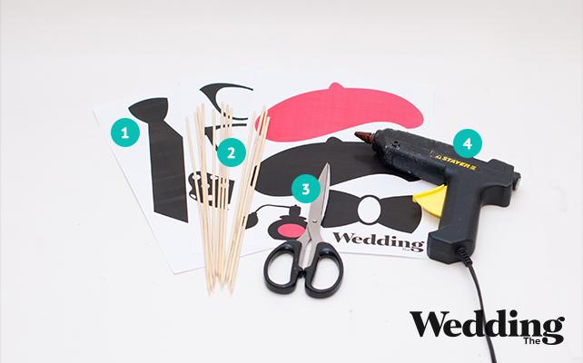 как сделать аксессуары для фотосессии, материалы изготовления