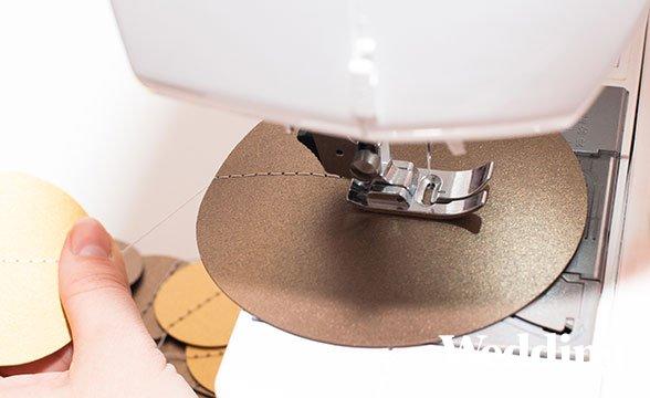 как сделать гирлянду из кружков