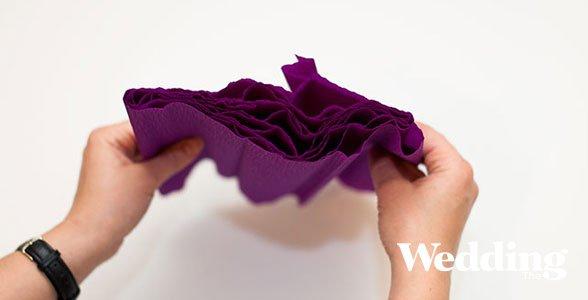 гигантский бумажный цветок своими руками
