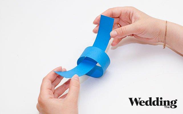 Как сделать колечки из картона