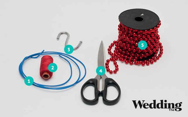 как сделать люстру из бусин своими руками, материалы для изготовления
