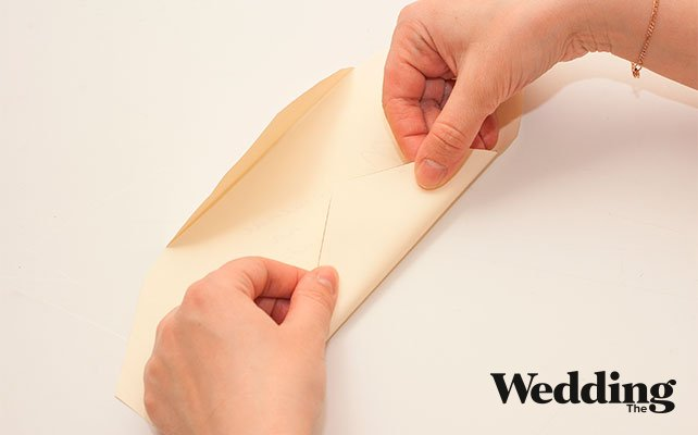 сложить шаблон конверта
