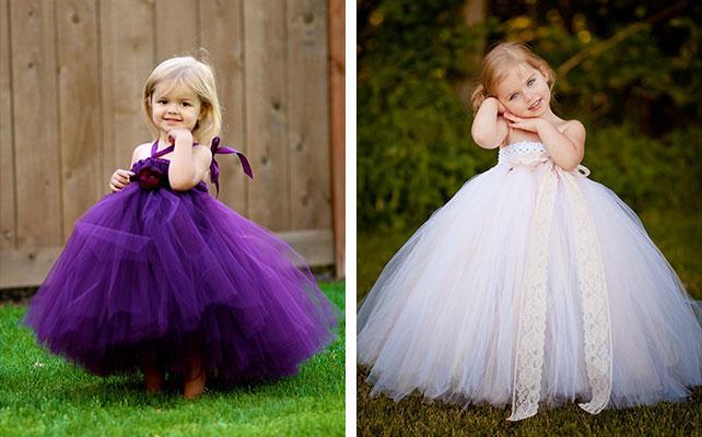 Красивые платья для девочек своими руками
