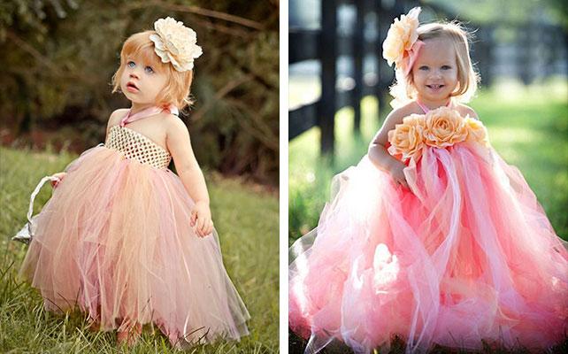 Платья сделанные своими руками для детей