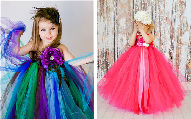 Детское платье своими руками с фатина