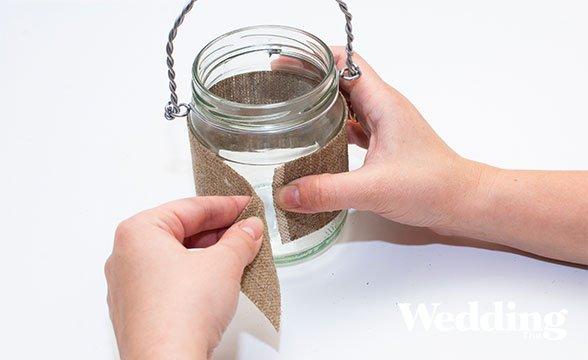 Как сделать вазу из стеклянной банки? / Surfingbird - проводи время с пользой для себя!