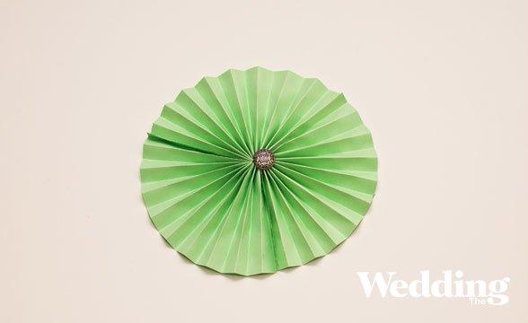 Бумажный веер своими руками