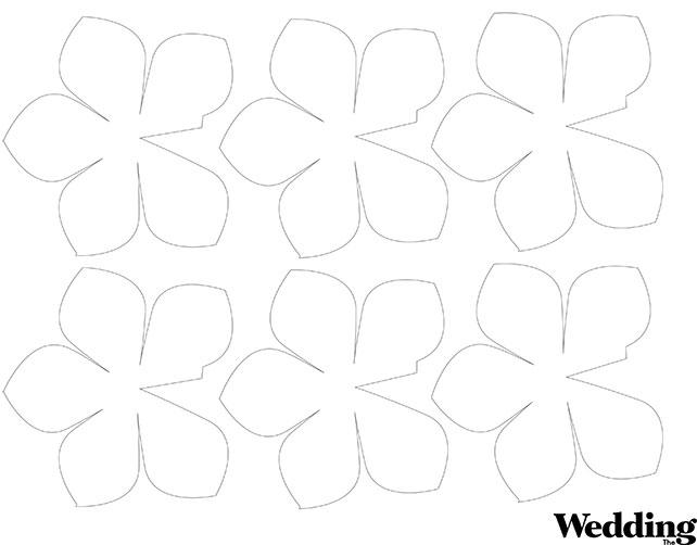 Скачать шаблоны для бумажных цветов