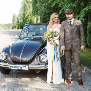 #AbbeyRoadWeddingParty. Свадьба Анны и Эдуарда